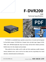 F-dvr200 Dvr Technical Specification