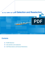 ZTE UMTS Cell Selection and Reselection