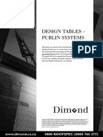 Design Tables Purlins