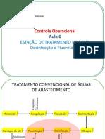 Controle Operacional - Desinfecção e Fluoretação