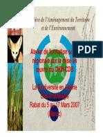 Biodiversite Chm Algerie