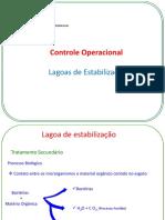 Controle Operacional -Lagoas de Estabilização