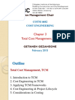 Total Cost Management, TCM