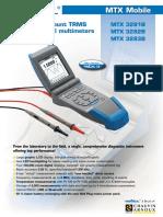 MTX3282B multimeter