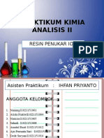 PPT Resin Penukar Ion