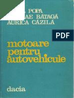 Bazil Popa Nicolae Bataga Aurica Cazila Motoare Pentru Autovehicule 1982