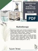 Brachitherapy Dan Orthovoltage Radiotherapy