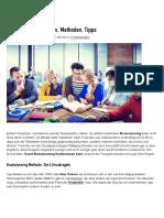 Brainstorming_ Regeln, Methoden, Tipps _ Karrierebibel