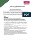 Strategic Case Study Practice Exam Variant 2 Answers