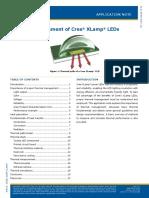 CREE Led Lamp Thermal Management