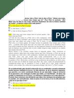 Soluciones a Ejercicios Planteados en La Evaluación 6 Edic