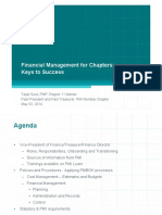Financial Management for Chapters - Keys to Success PMI Learn
