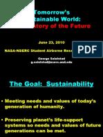 Tomorrow's Sustainable World