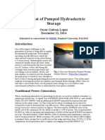 The Cost of Pumped Hydroelectric Storage.docx