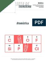 [BIOLOGIA_2016.02.29] Lista de exercício_Atomística