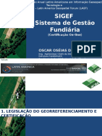 'Docslide.net Sigef Sistema de Gestao Fundiaria Certificacao on Line 3a Conferencia e Exibicao Anual Latino Americana Em Informacao Geoespacial Tecnologia e Aplicacoes