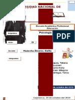 Informe de Piaget