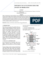 Enhancing the Efficiency of an Ic Engine Using the Concept of Preheating