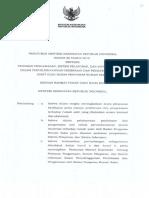 PMK 88 Tahun 2015 Ttg Pedoman Pengawasan, Pelaporan & Informasi Oleh BPRS
