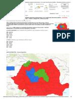 HARTA INTERACTIVA & TABEL Rezultatele Alegerilor Parlamentare_