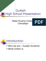 Oxfam HS Powerpoint