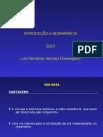 Introdução a Biofarmacia