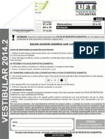 Vestibular2014 2 Prova Manha