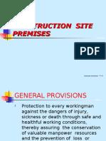Construction Site Premises