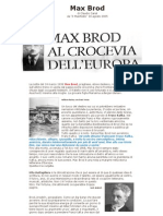 claudio canal, Max Brod