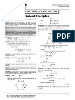 Class Xi & Xii - Physics# Dpp (Basic Mathematics & Vectors) - 02.07.2016