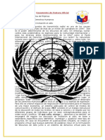 Documento de Postura Oficial UP MUN 2016 FILIPINAS