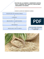 La Comparación Efectiva de La Quinua y Amaranto Dietas Complementadas en El Control Del Apetito