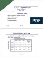 K MEANS Classification