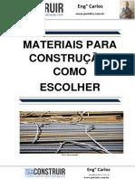 Materiais Para Construção - Como Escolher