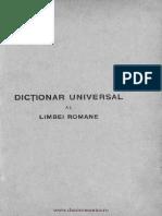 Lazar Saineanu - Dictionar Universal Al Limbei Romane