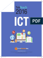 2016 TekTeach ICT Brochure