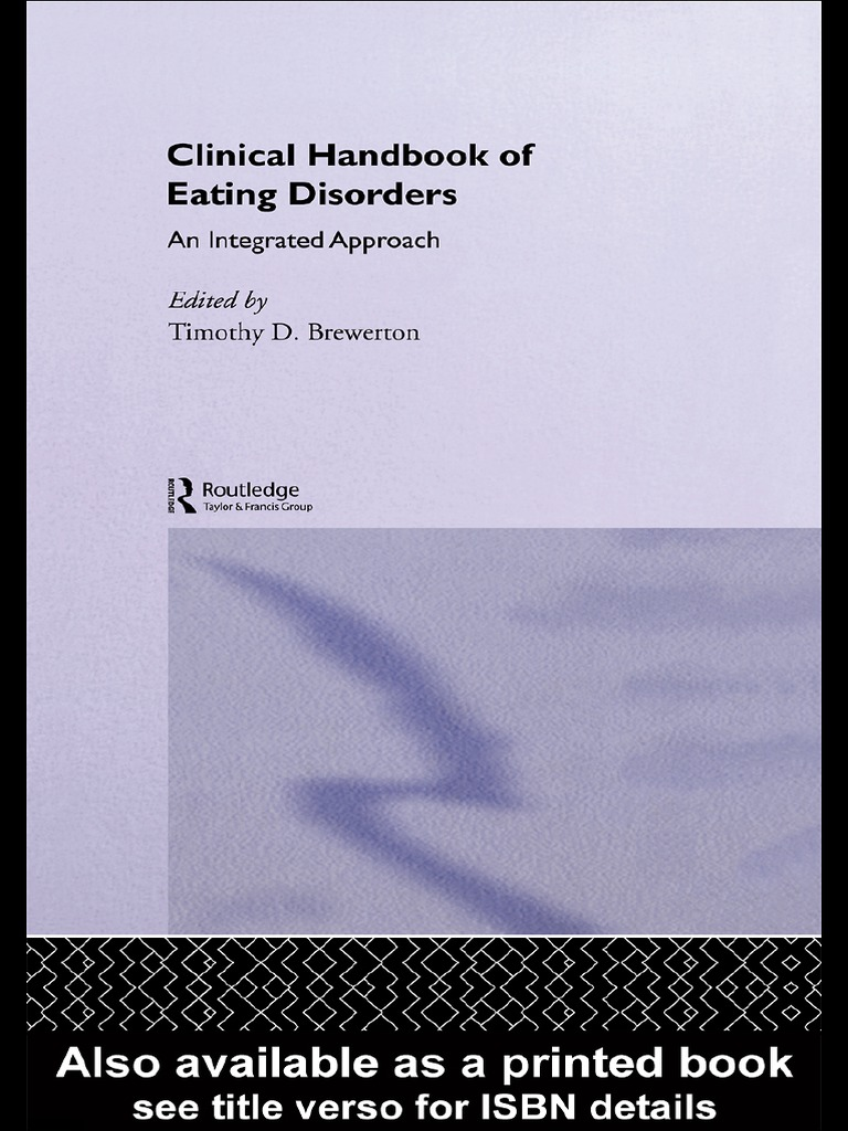 4 clinical handbook of eating disorders an integrated approach 4 clinical handbook of eating disorders an integrated approach diagnostic and statistical manual of mental disorders bulimia nervosa fandeluxe Image collections