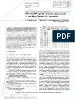 Architectural Exploration and Design of Time-Interleaved SAR Arrays for Low-Power and High Speed a:d Converters