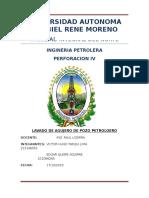 Informe de Perforacion IV