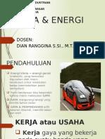 Pert 1 Energi Dan Kerja