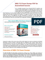 Christmas Offer 30% Discount on MB2-712 Exam - MB2-712 Dumps PDF