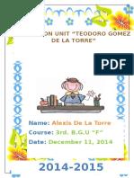 3ro F Thesis Statement de La Torre Alexis (2)