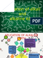 Kimia Unsur Alkali Dan Tanah