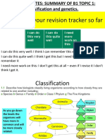 B1 Topic 1 Revision Powerpoint HIGHER