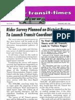 Transit Times Volume 8, Number 1