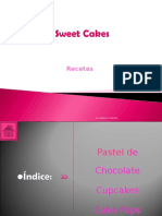 PowerPoint Sweet Cakes
