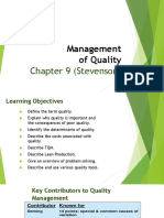 6 Quality Management-Ch-9 (Stevenson)