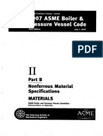 ASME Section II Part B - Nonferrous Material Specifications 2007