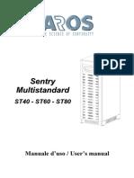 ups aros sentry multistandard 40 80 kva manuel power supply rh scribd com
