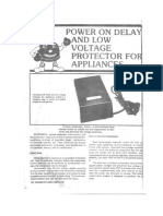 Power on Delay
